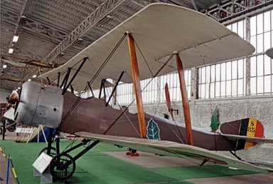 Sopwith 1½ Strutter on Display in Brussels Military Museum