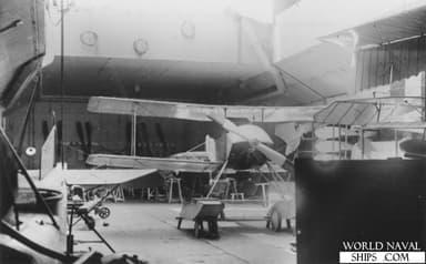 Storage Hangar On Board HMS Ark Royal