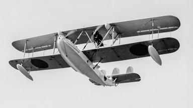Supermarine Southampton Sold to Japan and Later Converted for Civil Use