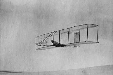 The 1902 Wright Glider with Double Rudder