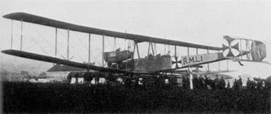 The 1915 VGO.1 That Made the Maiden Flight