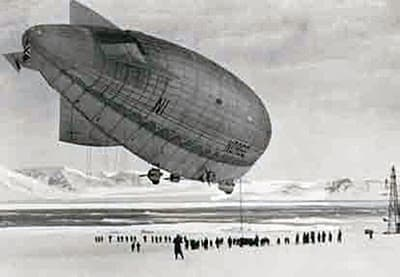 The 1926 Flight of the 'Norge' Airship over the Arctic