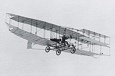 The AEA Silver Dart in 1909