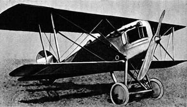 The Aero A.18 Biplane Fighter
