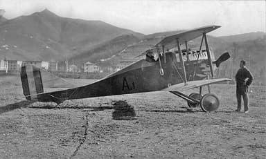 The Ansaldo A.1 Fighter Aircraft