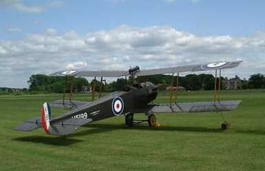 The Avro 504K in the Shuttleworth Collection, Bedfordshire England