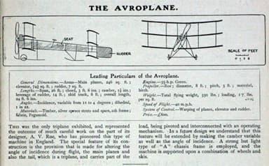The Avroplane