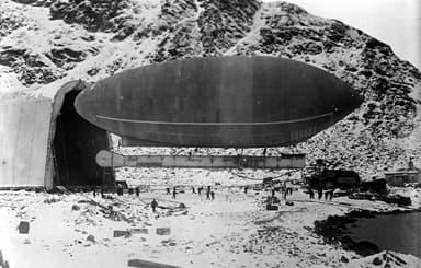 The Blimp-Wellman Airship, Spitzbergen (1906)
