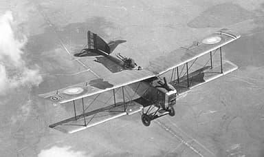 The Bréguet 14 Biplane Bomber / Reconnaissance Airplane