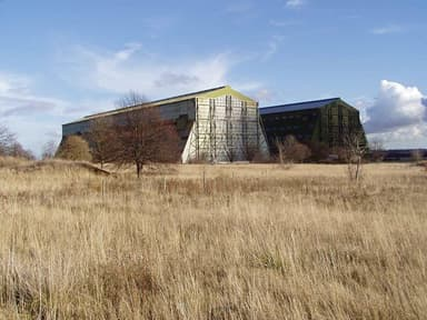 The Cardington Hangars During Their Long Slumber