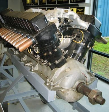 The Curtis Record-Breaking D-12 Engine