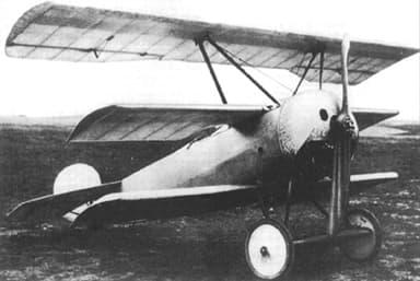 The First Fokker V.4 Prototype