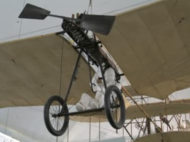 The First Grade Monoplane on Display at Deutsches Museum