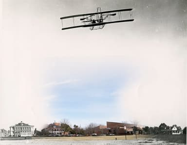 The First Official U.S. Military Airplane Takes to the Sky
