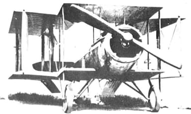 The First Sopwith T.1 Showing 'Split' Front Inner Interplane Struts