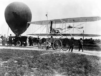 The First Wright Airplane Arriving at Fort Myer, Virginia 1 September 1908