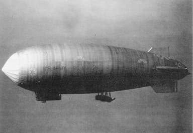 The Goodyear RS-1 Semi-Rigid Airship