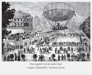 The Leppich Hot Air Balloon Test