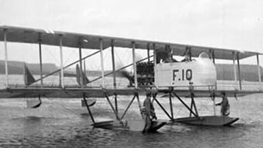 The Marinens Flyvebaatfabrikk M.F.6 Pusher Biplane