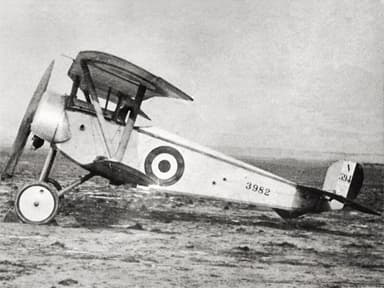 The Nieuport 11 Fighter Originally Intended for Racing
