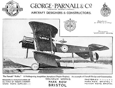 The Parnall Puffin by George Parnall and Company
