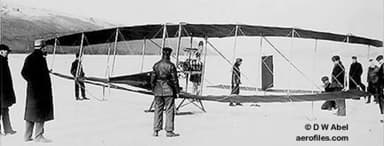 The Red Wing Before the Only Flight (March 12, 1908)