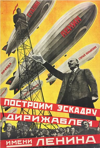 The Russian Airship as Propaganda Machine