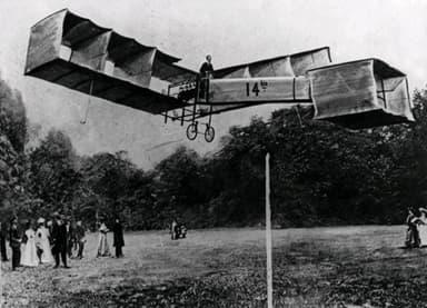 The Santos-Dumont 14-bis Prize-Winning Flight