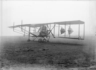 The Winning Cody V Experimental Biplane