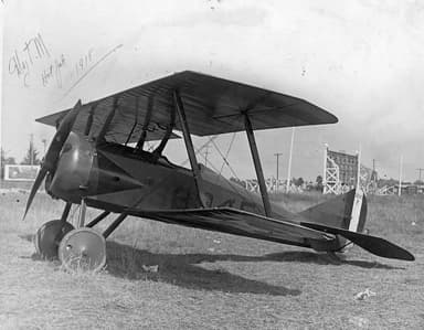 Thomas Morse S-4C with Training School Number on Fuselage Sides