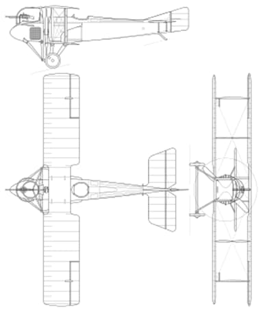 Three Plane View of SPAD S.A.2