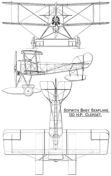 Three View Drawing Showing Beaching Wheels
