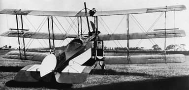 Tri-wing Avro 547 Aeroplane, Owned by Qantas, ca. 1921