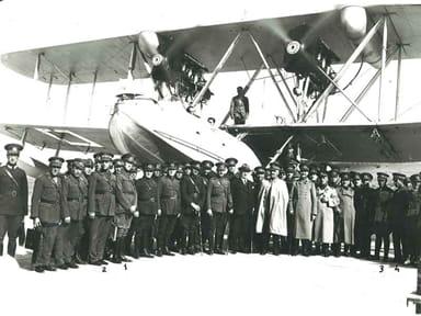 Turkish Air Force Supermarine Southampton Mk.II in 1933