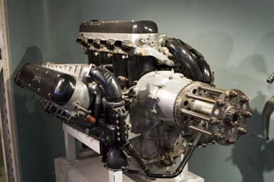 Twelve-Cylinder Napier Engine Produced from 1917 to 1930's