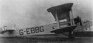 Twin Eagle-Engine Handley Page W.8b