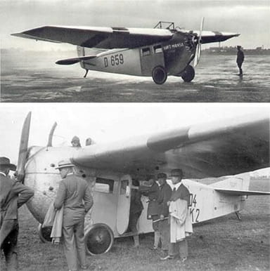 Two Contemporary Views of the Focke-Wolf A.16