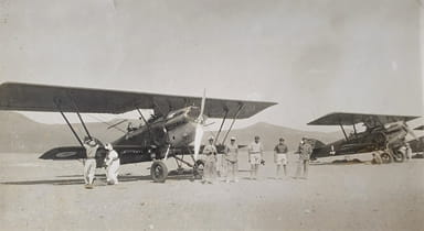 Two Potez 25s Ready for Action in North Eastern Chad (1941)