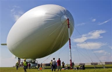 U.S. Navy MZ-3A Manned Airship at Lake Front Airport in New Orleans (2010)