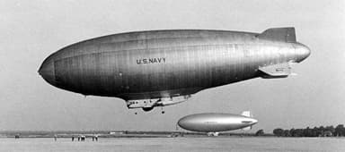 U.S. Navy N-Class Blimp (Uncertain Date)