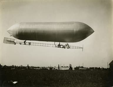 U.S. Signal Corps Dirigible No SC-1 Launched 5 August, 1908