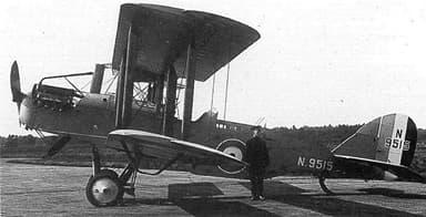 Westland Walrus N9515 in August 1921 During Handling Trials