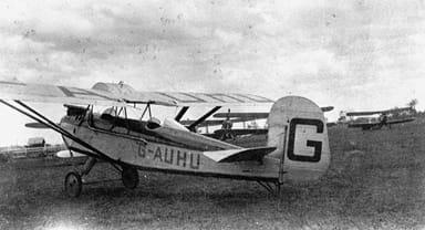 Westland Widgeon III (Circa 1928)