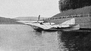 Wilhelm Kress Airplane at Wienerwaldsee (October 3, 1901)