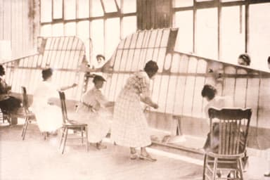 Women Making Thomas-Morse MB-3A wings at Boeing Factory, (1919-1922)