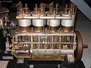 Wright Vertical 4 Engine at Steven F. Udvar-Hazy Center (1912)