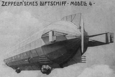 Zeppelin Airship Model LZ4