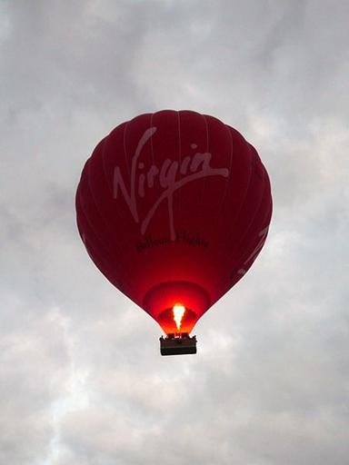 Hot Air Balloon Firing Up