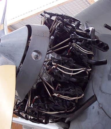 Armstrong Siddeley Two-Row Radial Engine (circa 1927