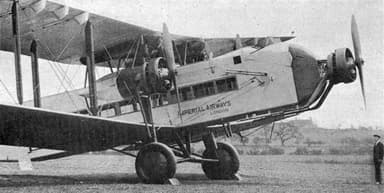 Armstrong Whitworth AW.154 Argosy L'Aéronautique July,1929